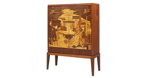 Erik Matsson cabinet, 1942, offered by Warehouse 10