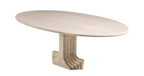 Carlo Scarpa dining table, 1970s, offered by Morentz