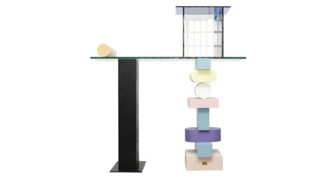 Ettore Sottsass Solitaria console, 1992, offered by Dada