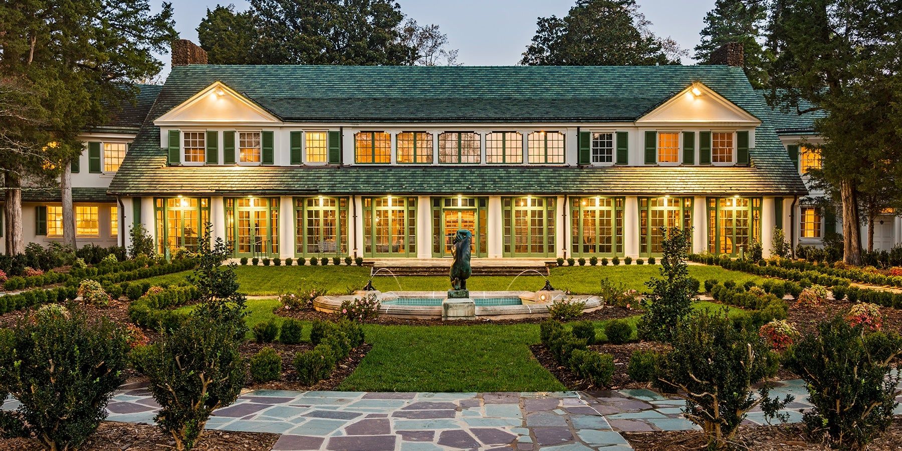 A Grand North Carolina Mansion with a Trove of American Art ...
