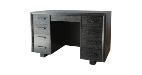 Nine-drawer desk, 1970s, offered by Nickey Kehoe