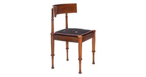 Constantin Hansen klismos chair, ca. 1850, offered by H.M. Luther