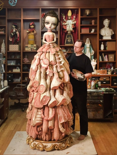mark ryden contemporary artist Read the biography of mark ryden and a skull resting at the base it was included in an exhibit at the museum of contemporary art in los angeles.