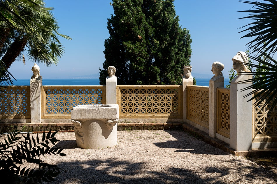 Jacques Garcia Has Renovated Villa Astor on the Amalfi Coast