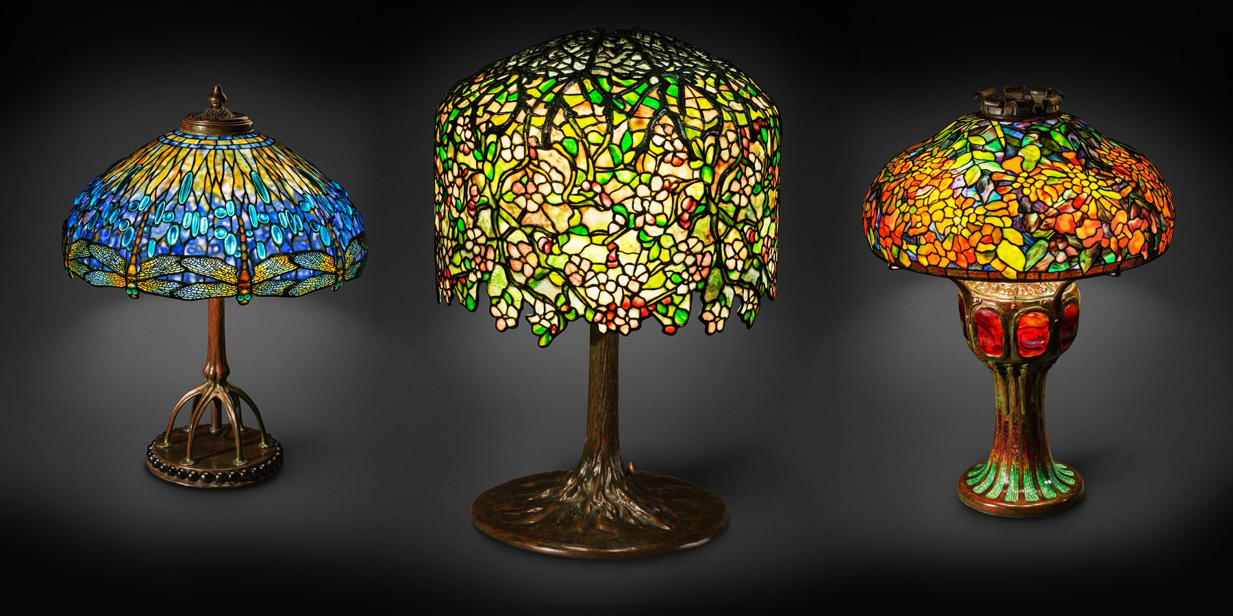 61184fcba17 New York s New Two-Story Wonderland of Tiffany Lamps - 1stdibs ...