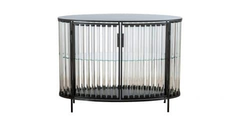 Glass tube Oval cabinet, 2017