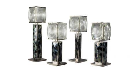 Nickel ceramic lava lamps, 2017