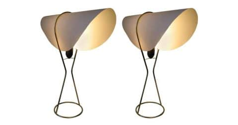 Werkstätte Carl Auböck Nun table lamp, contemporary production, offered by Two Enlighten