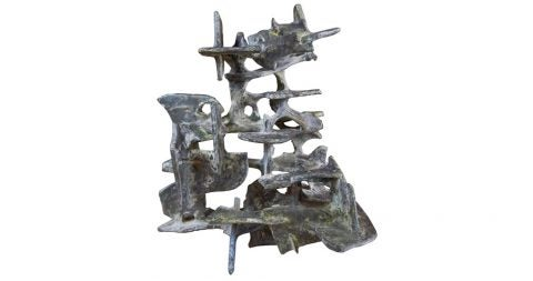Abstract sculpture by Marcello Fantoni, 1975