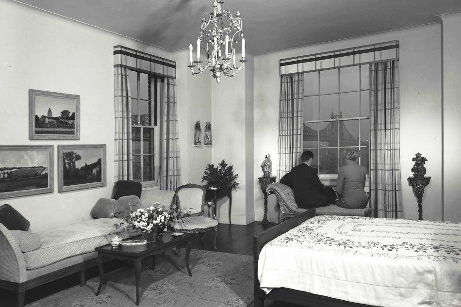 vintage new york apartment