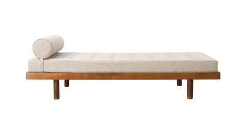 Le Corbusier and Charlotte Perriand Maison du Brésil bed, ca. 1959