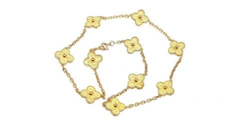 Van Cleef & Arpels Alhambra necklace, offered by Fortrove
