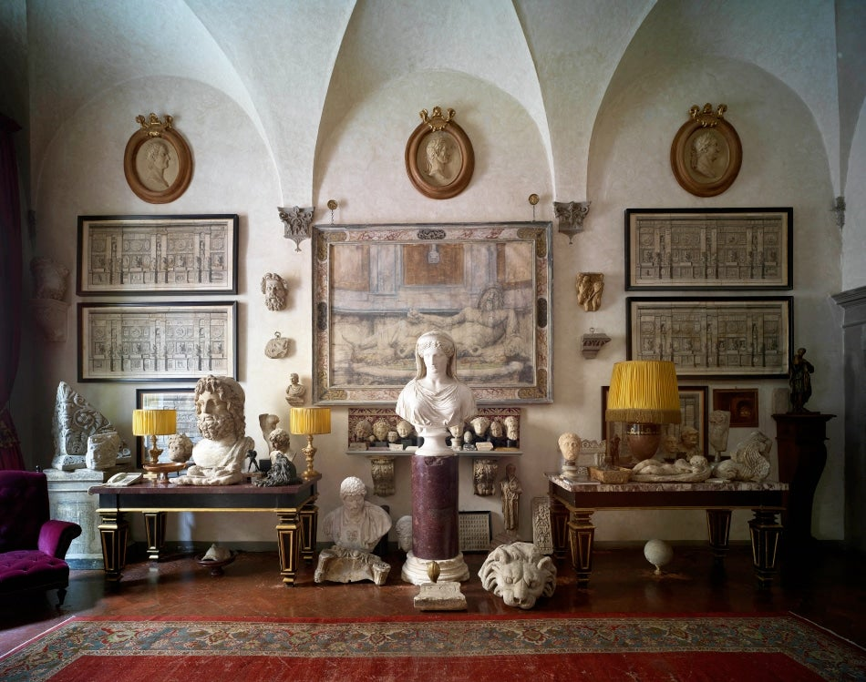 Massimo Listri Carves out a Singular Home in Florence
