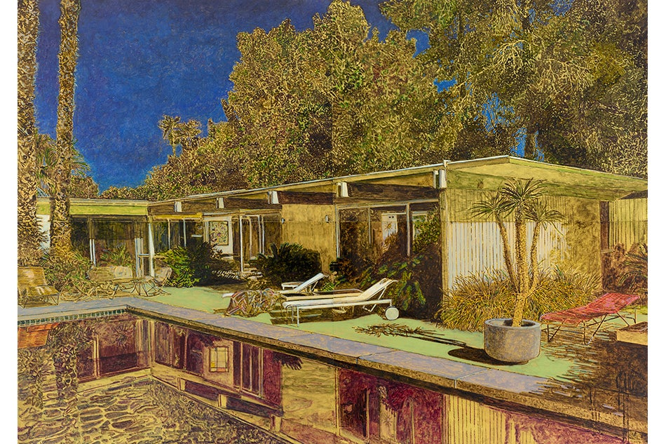 What Stirs Beneath the Painted Surfaces of these Mid-Century Houses?
