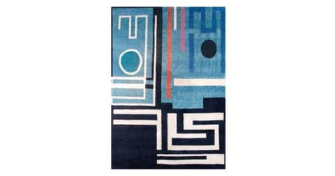 Geneviève Claisse rug no. 78, late 20th century, offered by Boccara Paris