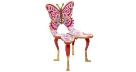Pedro Friedeberg butterfly chair, 2006, offered by Retro Inferno