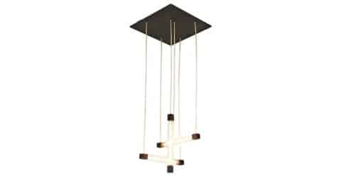 Gerrit Rietveld hanging lamp, 1950, offered by Dada