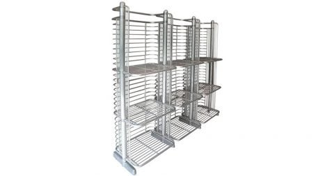 French Art Deco–style industrial shelf, 1950s, offered by 20th Century Gallery