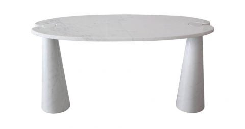 Angelo Mangiarotti Eros series marble console, 1969, offered by Orange Furniture