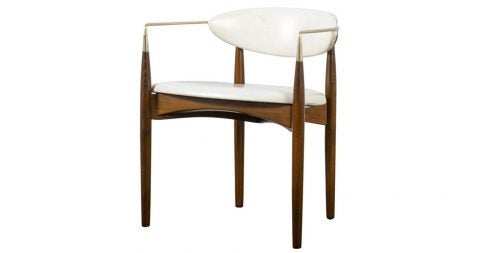 Dan Johnson for Selig Viscount armchair, 1950s, offered by Mid-Century Modern Finds