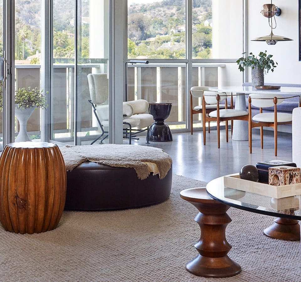 A Power Couple Creates an Oasis of Calm in the Los Feliz Hills