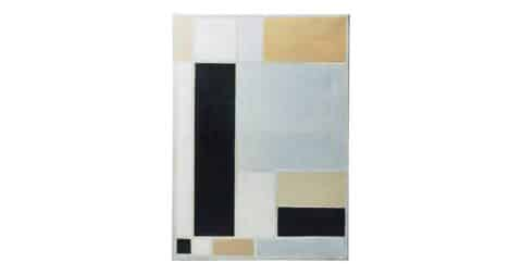 Untitled painting, ca. 1990s, by Sven Hansson, offered by Modernity