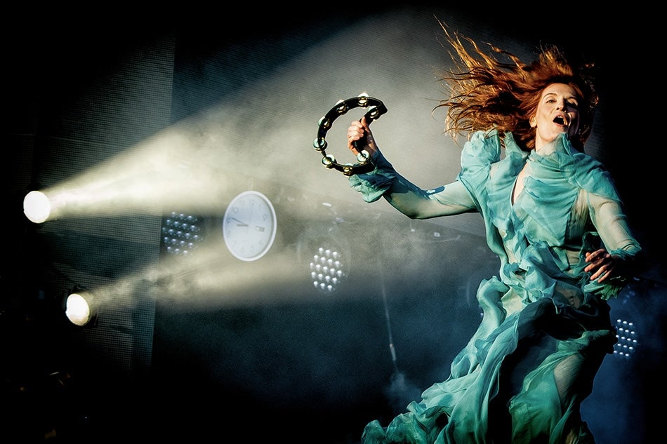 Florence Welch Florence and the Machine portrait by British royal photographer Samir Hussein