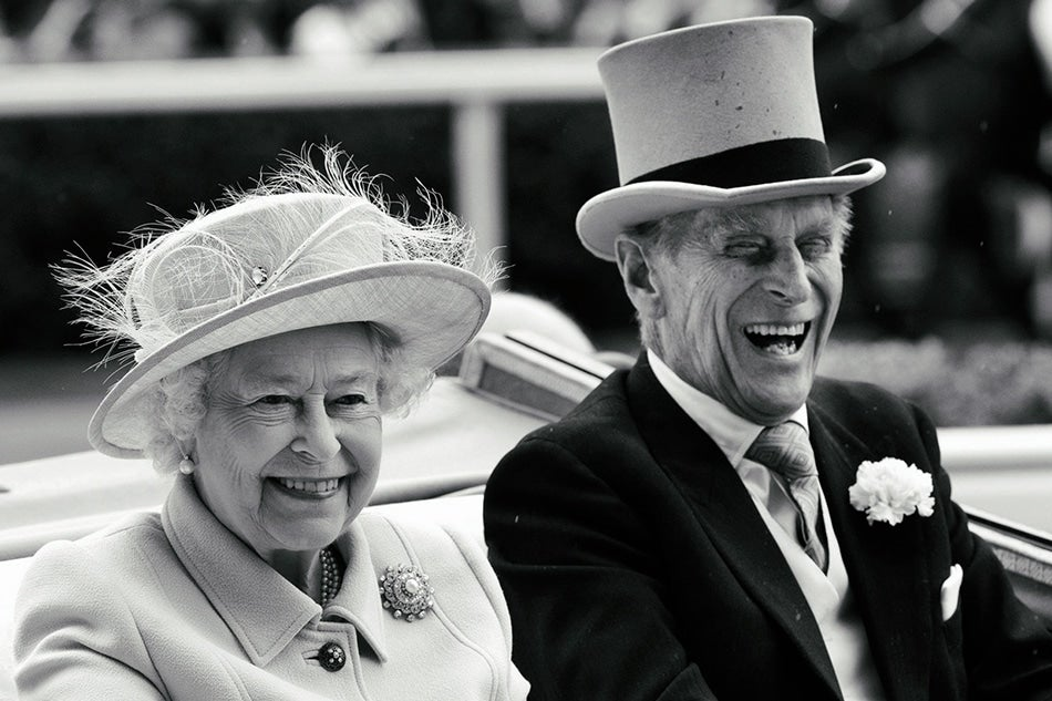 Queen Elizabeth II Prince Philip British royal photographer Samir Hussein Ascot Duke of Edinburgh