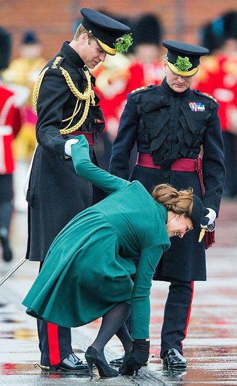 British royal photographer Samir Hussein Kate Middleton Duchess of Cambridge shoe Prince William