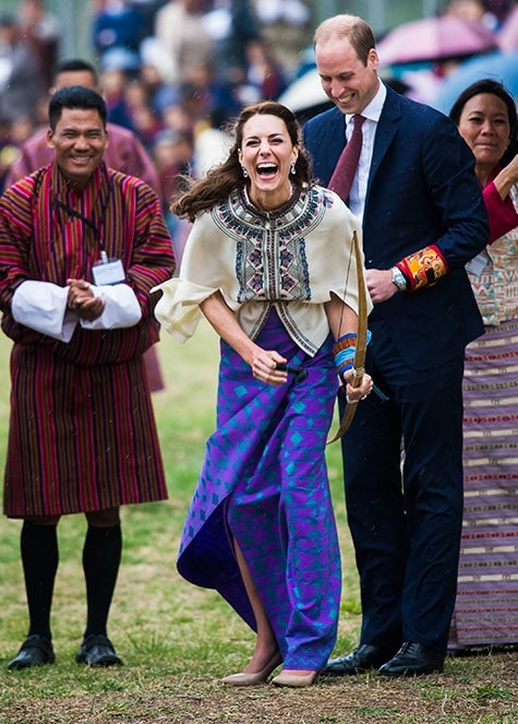 British royal photographer Samir Hussein Duchess of Cambridge Kate Middleton Bhutan Prince William