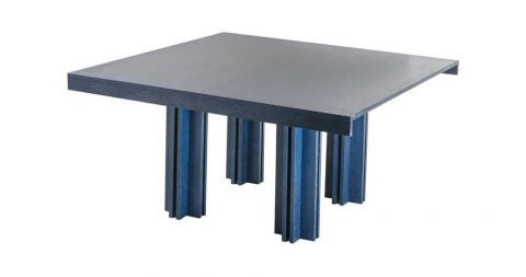 Carlo Scarpa for Gavina Quatour table, 1974, offered by Compasso