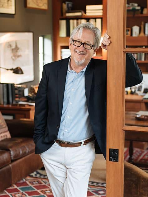 Texas architect Michael Imber portrait