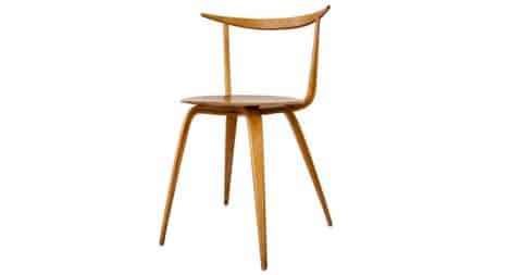 George Nelson Pretzel chair, 1950s, offered by Adore Modern