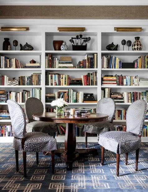 Chicago designer Tom Stringer Chicago home library