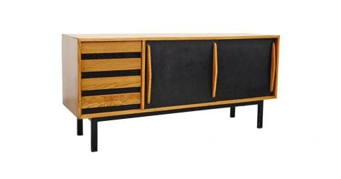 Charlotte Perriand Cansado sideboard, ca. 1950, offered by Dada