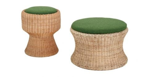 Eero Aarnio Juttu stools, 1960s, offered by Bloomberry