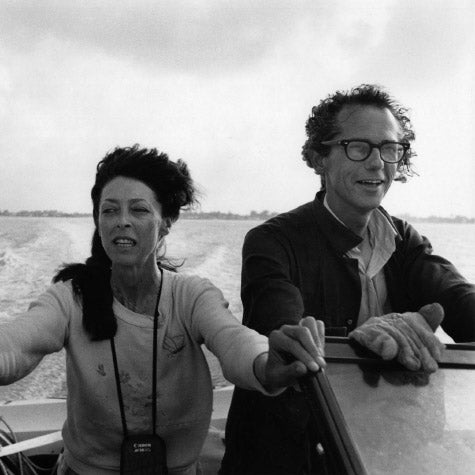Artists Christo and Jeanne-Claude