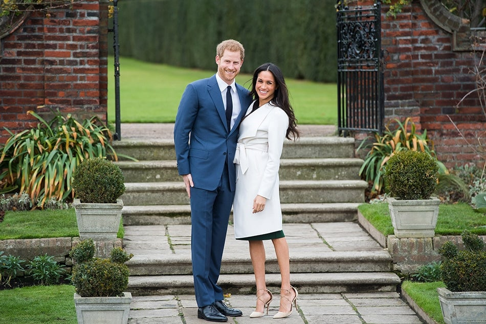 Prince Harry Meghan Markle engagement British royal photographer Samir Hussein