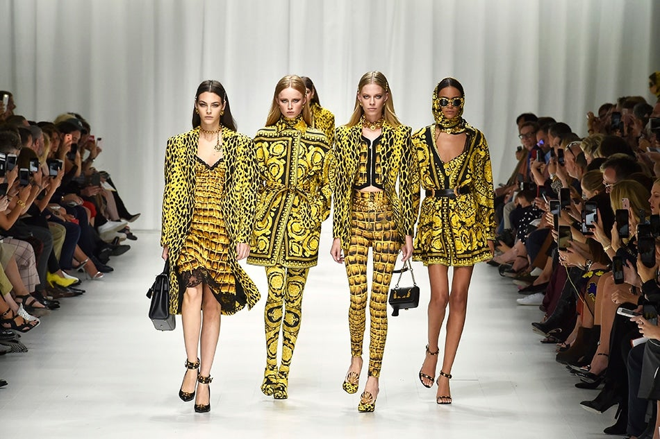 Celebrating Versace's Verve, Yet Again