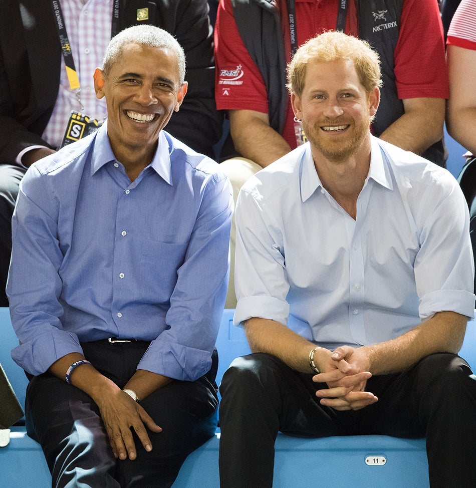 President Barack Obama Prince Harry British royal photographer Samir Hussein
