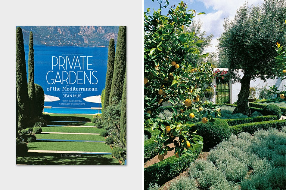 Mediterranean garden by Jean Mus