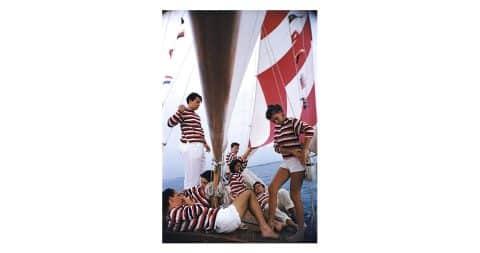 <i>Adriatic Sailors</i>, 1956, by Slim Aarons