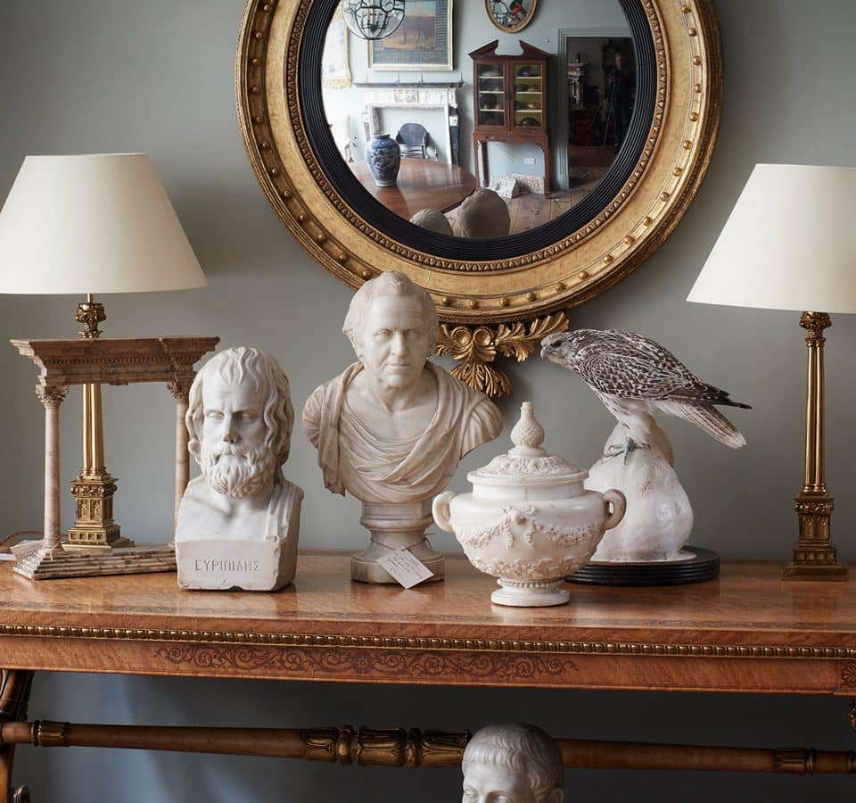 The Fireplace Is at the Heart of This London Antiques Utopia