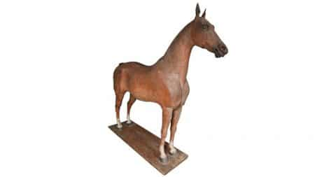 Horse sculpture, late 18th to early 19th century