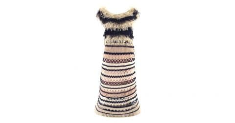 Jean Paul Gaultier crochet dress, 21st century, offered by Sielian's Vintage Apparel