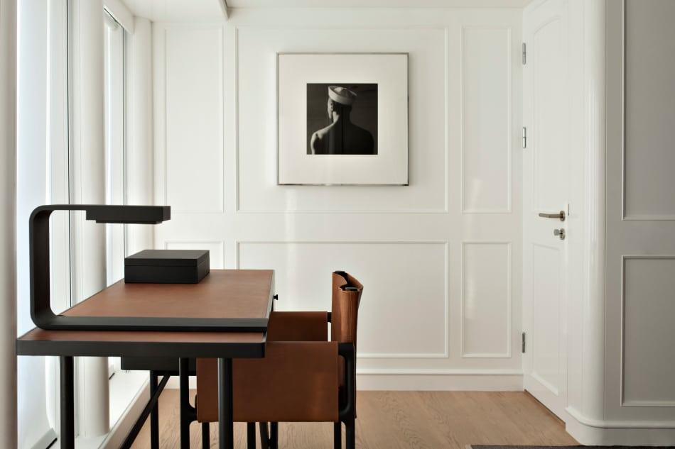 Belgian designer Vincent Van Duysen yacht RH3 study desk