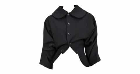 Comme des Garçons Upside Down jacket, 21st century, offered by Resurrection