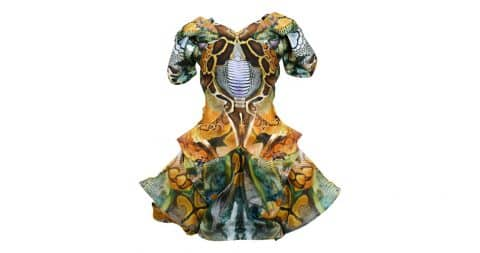Alexander McQueen Plato's Atlantis dress, Spring/Summer 2010, offered by Resurrection