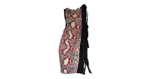 Prada snakeskin-print dress, Spring/Summer 2009, Shrimpton Couture