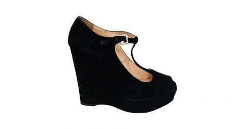 Prada T-strap wedges, 21st century, offered by Collette
